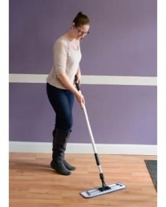 How to use the floor mop